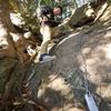 【大甕神社】本堂まで鎖を使って登る・星の神様を祀るパワースポット