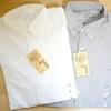 無印良品のオーガニックコットンを使った「新疆綿洗いざらしオックスボタンダウンシャツ」がいい感じ。
