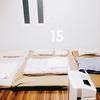 寝室・秋バージョンを公開。【100日オーガナイズ】