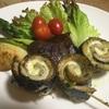 秋刀魚のチーズロール