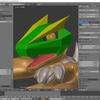 Blenderでテクスチャに合わせてUV展開を調整する