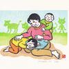 8/4~6 中井英美さんと村田美菜子さんとわらべ歌を