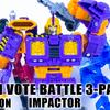 トランスフォーマー:SIEGE War for Cybertron インパクター・ホロミラージュ・パワダッシャーアラゴン from FAN VOTE BATTLE 3PACK