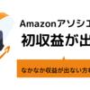 Amazonアソシエイトで初収益をあげる記事の書き方。大好きな物を5分でレビューせよ!