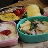 今日のお弁当〜豚肉と大根の炒め物