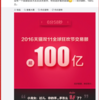 【ダブルイレブン速報】2016年:中国天猫(Tmall)の「独身の日」ダブルイレブン(双十一)は、なんと6分58秒で100億元(約1,550億円)を突破!!