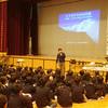 和歌山の宮原小学校にてヒマラヤ遠征のお話