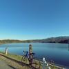 一日一撮 vol.407 満濃池:池の周りを回る