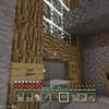マイクラの第一地下都市にバーと宿屋を作りました。