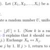 TeX で乱数を使う (2) ~ ランダムなシャッフル