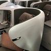 ANAミリオンマイル修行:シンガポール航空のビジネスクラスでバンコクへ ※「天空のカフェ」再び!!