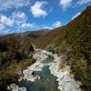 三重県松坂市までツーリング。蓮ダムとか、道の駅飯高駅とか、珍布峠とか、国分伝説とか、沈下橋とか。