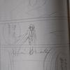 アスタロンサーガの原稿の下書きを5ページ描きました。ところで