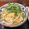 丸亀製麺 ネギと生姜とかしわ天