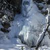 極寒の日 全面氷結の氷瀑を見に岩手山の七滝に行ってきた