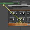 (Digital Performer)Digital PerformerのBassLineで学ぶシンセという楽器-その2(midi打ち込み・オートメーション・midi learn)
