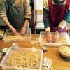 素手で作る!お味噌作りの会をしました
