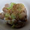 【タレと薬味のハーモニー】豚丼にすりゴマと温玉は神すぎた