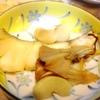 鱈と蕪と舞茸、長芋、コロッケ、玉子焼き