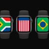 watchOS7に各国の国旗をモチーフとした新しい文字盤「International」追加、iOS14から明らかに