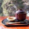 #0214 昇仙峡(山梨県)で食べた金精軒の信玄餅入り「信玄おしるこ」が美味しかった。