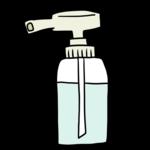 消毒用アルコール のイラスト