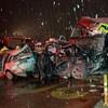【パンダで厄災・絶滅危惧種?(笑)】10月3日 中国・甘粛省 高速道路で大型トラックが車列に突っ込む、31台巻き込み15人死亡 【八百長の土地 東北熊襲 仙台】