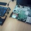 ThinkPad X40 のハードディスクを CF   カードに換装
