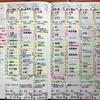 9月最終週〜10月第1週の僕のジブン手帳。