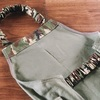 【簡単な作り方動画紹介】一人で着られるゴム仕様のエプロン~60㎝四方の布で作るキッズ用120サイズ