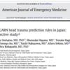 【生涯学習】小児頭部外傷アップデート PECARN,CATCH,およびCHALICEの有用性。日本でもPECARNは使えるのか。