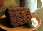 濃厚しゅわしゅわ食感 チョコシフォンケーキのレシピ