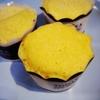 レンジで10分の卵ケーキ。ホットケーキミックスを使って。