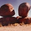 毎日更新 1983年 バックトゥザ 昭和58年7月31日 オーストラリア一周 バイク旅 37日目 22歳 大蛇卵岩 内陸寒波   ヤマハXS250  ワーキングホリデー ワーホリ  タイムスリップブログ シンクロ 終活