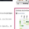 ブログのサイドバーにGitHubの「草」を載せました(その動機と「ブログに草」のススメ)