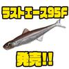 【EVERGREEN】フローティング系リアルソフトベイトに新サイズ「ラストエース95F」追加!