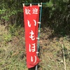 9月8日(芋掘り体験実施)