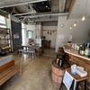今の場所では最終営業日のカフェ