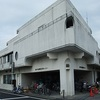 松戸市の三角自動ドアのビル