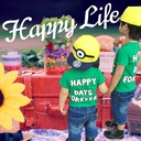 Happy Life -シンママと2匹の怪獣-
