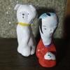 ハヤシダイスケ / 陶人形「役者」「白犬B」