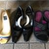 靴捨てました。