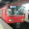 名鉄6000系列の代走特急