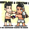 5・17 ONE CHAMPIONSHIP 青木真也VSクリスチャン・リー、青木王座陥落!新王者と涙の抱擁!