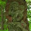 石峰山の頂ちかくにある謎の仏像と祠 福岡県北九州市若松区藤木