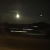 満月に癒された夜