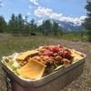 【アメリカで自炊】アメリカの食材で料理(キャンプ飯)を作ろう