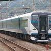 9月20日撮影 東海道線 平塚~大磯間 いつもの所で貨物列車と特急踊り子号を撮る