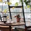 隔世の感 at 朝カフェ