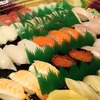 お祝いにはお寿司
